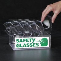 Filled Eye Protection Station