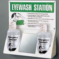 Instructional Eyewash Station