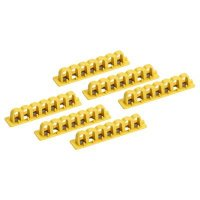 "Brady 65814 EZ Panel Loc® 4"" Lock Rails - Pack of 6"