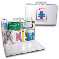 Fieldtex ANSI and OSHA Compliant Metal First Aid Kit