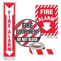 Fire Equipment Identification Kit - Fire Alarm