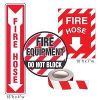 Fire Equipment Identification Kit - Fire Hose