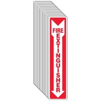 Fire Extinguisher Do Not Block - Sign Value Pack
