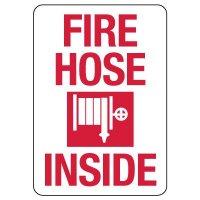 Fire Hose Inside Sign