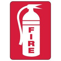 Fire Extinguisher (With Graphic) - Fire Equipment Signs