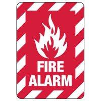 Fire Alarm Sign (Fire Symbol)