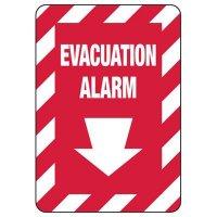 Evacuation Alarm - Fire Equipment Signs