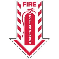 Fire Extinguisher Arrow - Fire Equipment Signs