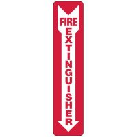 Slim-Line Fire Extinguisher Sign
