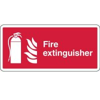 Fire Extinguisher w/Symbol Sign