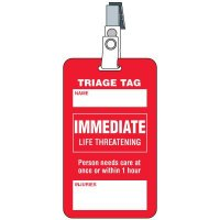 Immediate Triage Tag