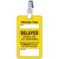 Delayed Triage Tag