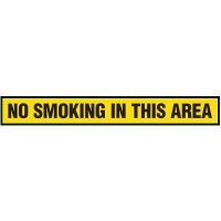 No Smoking In This Area Floor Marking Strips