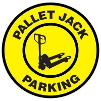 Floor Signs - Pallet Jack Parking
