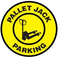 Floor Signs - Pallet Jack Parking