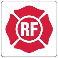 Roof Truss Identification Sign: RF