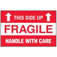 Fragile Label - This Side Up