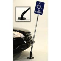 FlexPost 6' Galvinized Steel Sign Post