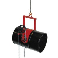 Gear Controlled Drum Lifter/Dispenser