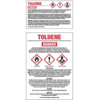 GHS Chemical Labels - Toluene