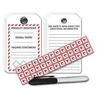 GHS Tag/Pictogram Label Kit