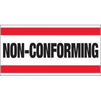 Giant Quality Control Wall Sign - Non-Conforming