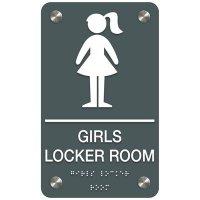 Girls' Locker Room - Premium ADA Facility Signs
