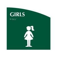 Girls - Evolution Restroom Signs