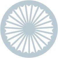 Circle Wheel Glass Awareness Labels