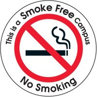 Smoke-Free Campus Door and Window Labels