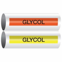 Glycol - Opti-Code™ Self-Adhesive Pipe Markers