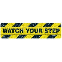 Watch Your Step Warning Strips