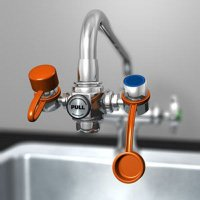 Guardian EyeSafe™ Faucet Mounted Eyewash Station -  G1100