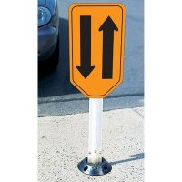 Two Way Traffic Sign And Guide Post - Flexstake 703