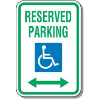 ADA Signs - Reserved Parking