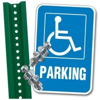 Handicap Parking Sign Kit