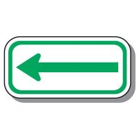Handicap Parking Signs - Arrow