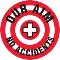Safety Training Labels - Our Aim No Accidents