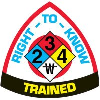 Safety Training Labels - Right-To-Know Trained