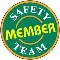 Safety Training Labels - Safety Team Member