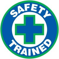 Safety Training Labels - Safety Trained