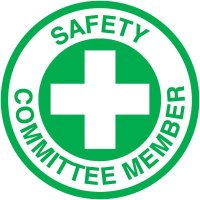 Safety Training Labels - Safety Committee Member