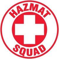 Safety Training Labels - Hazmat Squad