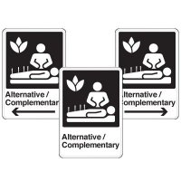 Health Care Facility Wayfinding Signs - Alternative / Complementary