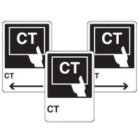 Health Care Facility Wayfinding Signs - CT