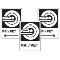 Health Care Facility Wayfinding Signs - MRI / PET