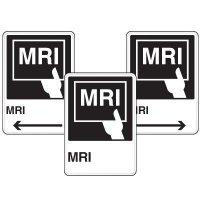 Health Care Facility Wayfinding Signs - MRI