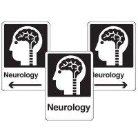 Health Care Facility Wayfinding Signs - Neurology