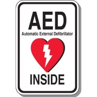 AED Inside Sign