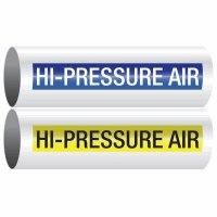 Hi-Pressure Air - Opti-Code™ Self-Adhesive Pipe Markers